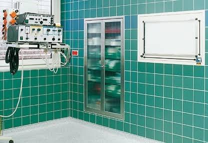 Керамическая плитка в больницах