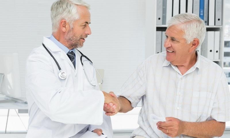 Удаление кальцината предстательной железы